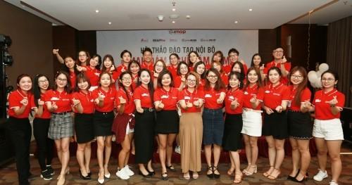 Workshop đào tạo nội bộ IMAP Đà Nẵng - IMAP sẵn sàng khởi động chuỗi 10 cơ sở trong 5 năm tới