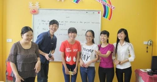 CLB tiếng Anh miễn phí tại Ms Hoa