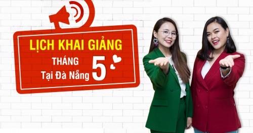 Lịch khai giảng lớp tiếng Anh giao tiếp tháng 5 tại Đà Nẵng