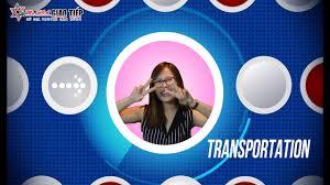 Từ vựng chủ đề: TRANSPORTS