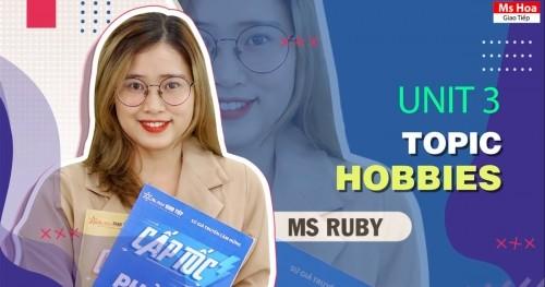 TỪ VỰNG TIẾNG ANH THEO CHỦ ĐỀ - TOPIC 3: HOBBIES