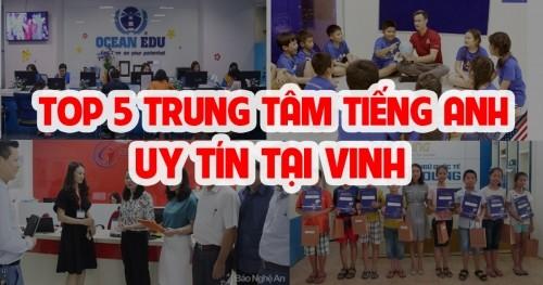 TOP 5 TRUNG TÂM TIẾNG ANH UY TÍN TẠI VINH