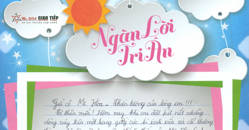 Lê Thị Hạnh - C74 - Em vẫn luôn nhớ câu nhắn nhủ của cô sau buổi học thử hôm đó: