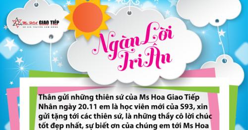 Đỗ Anh - S93 - Đến với Ms Hoa em tìm được cảm hứng với tiếng anh và tự tin hơn khi học xong mình luôn sẵn sàng giao tiếp bằng tiếng anh