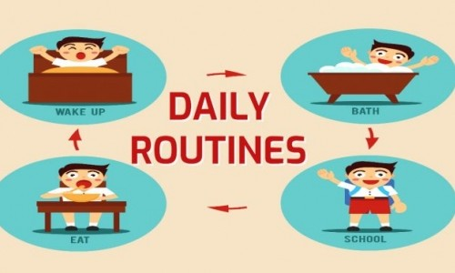 UNIT 9: DAILY ROUTINES