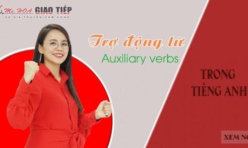 Trợ động từ - Auxiliary verbs trong tiếng Anh