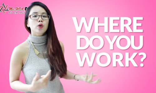 Unit 3: Talking about where you work
