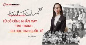 Hành trình từ cô công nhân may đến du học sinh quốc tế