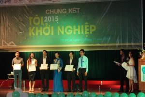Ms Hoa làm giám khảo cuộc thi Tôi, khởi nghiệp 2015