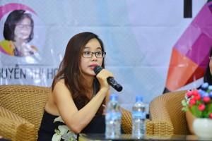 Ms Hoa - diễn giả chương trình