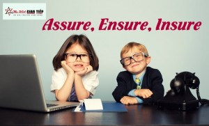 Unit 11: English Vocabulary - Assure, Ensure, Insure