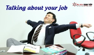Unit 2: Talking about your job