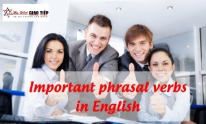 Unit 8: Important phrasal verbs in English