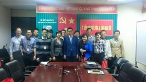 Không khí học tập sôi nổi của cán bộ Tổng công ty Mạng lưới Viettel tại khu vực Hà Nội