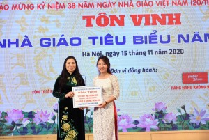 Giaoducthoidai - IMAP Việt Nam đồng hành cùng Bộ GD&ĐT và CĐGDVN tôn vinh Nhà giáo tiêu biểu năm 2020