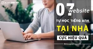 Bật mí 7 website cực hay tự học tiếng Anh tại nhà hiệu quả nhất