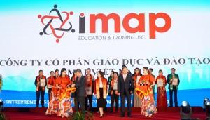 [Giáo dục & Thời đại] Công ty IMAP lọt top Doanh nghiệp tiêu biểu ASEAN 2021