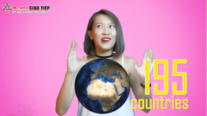 Tiếng anh giao tiếp hàng ngày: Topic Countries and Nationalities Part 1