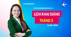 Lịch khai giảng lớp tiếng Anh giao tiếp tháng 3 tại Đà Nẵng