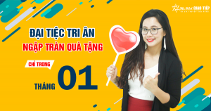 Lịch khai giảng lớp tiếng Anh giao tiếp tháng 1+2 tại Đà Nẵng