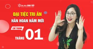 Lịch khai giảng lớp tiếng Anh giao tiếp tháng 1+2 tại TP Hồ Chí Minh