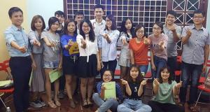 Pro 09 - Lớp học vui vẻ và em sẽ đăng kí thêm những khóa học tiếp theo để nâng cao kĩ năng giao tiếp