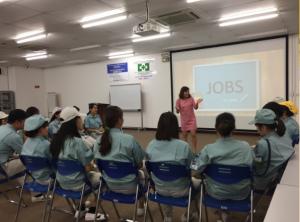 Buổi chia sẻ Phương pháp học tiếng Anh hiệu quả cùng Ms Hoa giao tiếp tại tổng công ty Panasonic