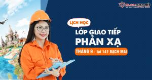 Lịch khai giảng lớp tiếng Anh giao tiếp tháng 09/2018 tại Hà Nội