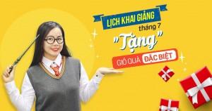 Lịch học lớp giao tiếp phản xạ tháng 7/2018 tại Đà Nẵng