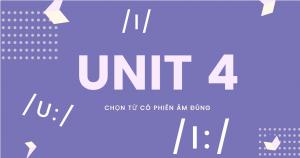 Unit 4 - 8 NGUYÊN ÂM ĐÔI khoá phát âm từ A-Z