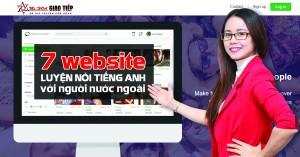 7 website luyện nói tiếng anh online với người nước ngoài