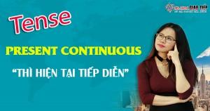Unit 3: Present continuous tense – Thì hiện tại tiếp diễn