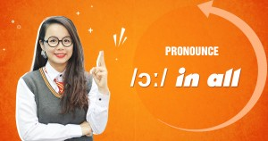 Unit 8: Pronounce /ɔː/ in all
