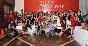 Rộn ràng tiệc cuối năm tại Công ty CP Giáo dục và Đào tạo IMAP Việt Nam