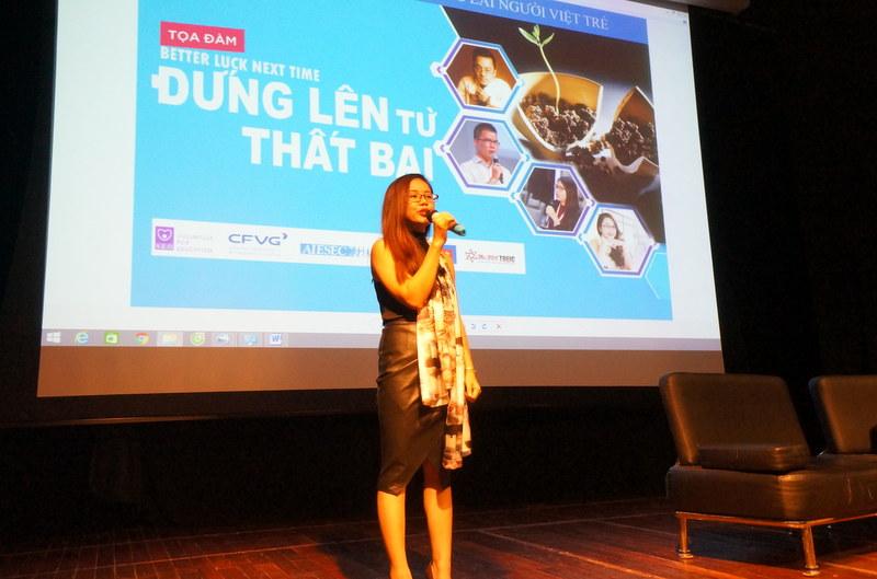 Ms Hoa - diễn giả tại hội thảo