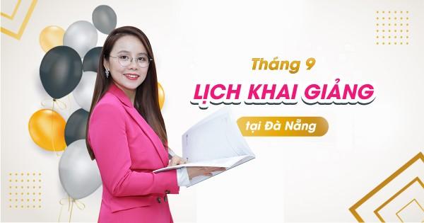 Lịch khai giảng lớp tiếng Anh giao tiếp tháng 9 tại Đà Nẵng