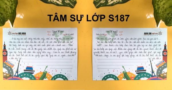 Lớp S187 - Cảm ơn cô đã cho em biết thế nào là tiếng Anh
