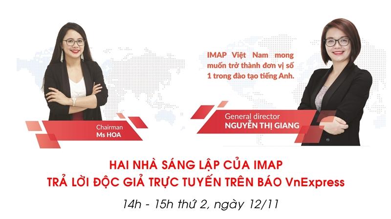 IMAP Việt Nam đồng hành cùng Startup Việt 2018 - Báo điện tử VnExpress