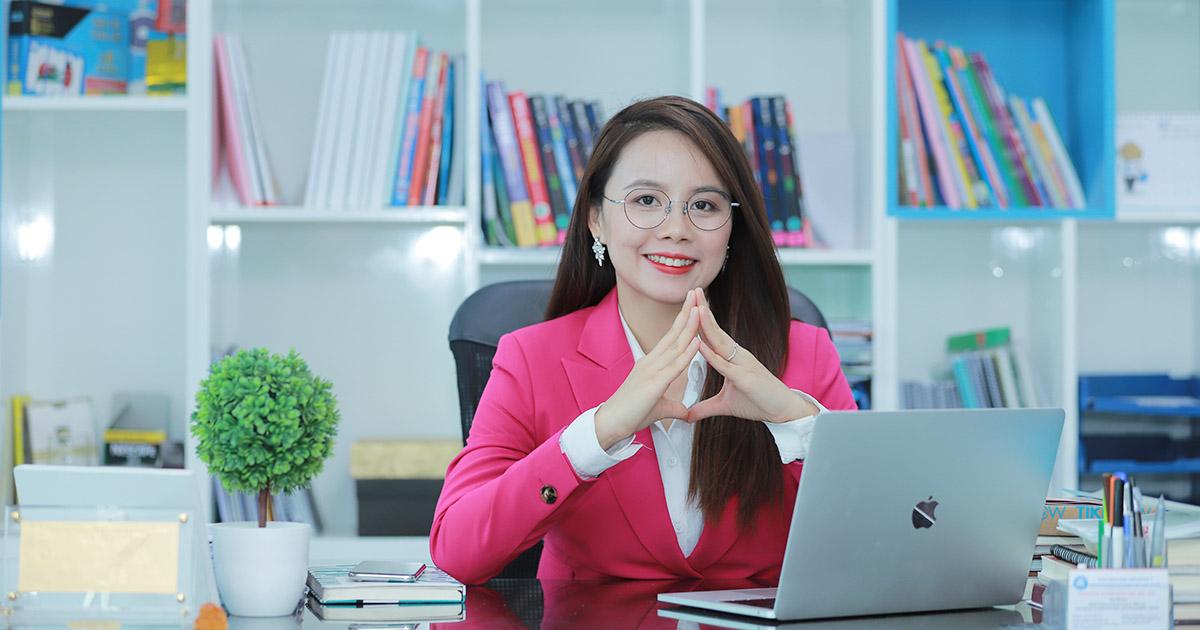 Ms Hoa - Nữ giáo viên mang triết lý văn hóa dạy Tiếng Anh