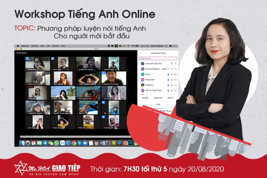 Workshop online hơn 500 người