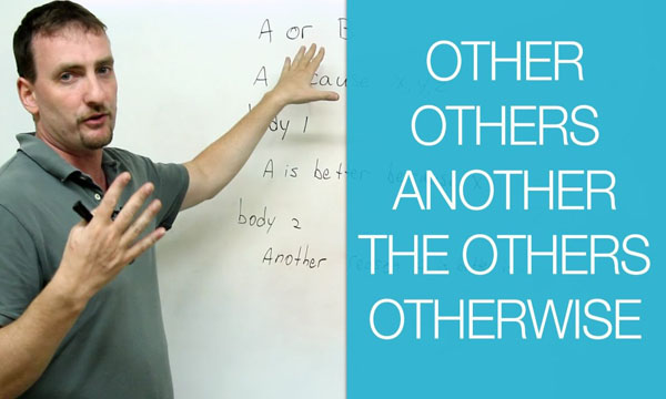 Unit 20: Cách dùng one/ another/ other/ the other/ others/ the others