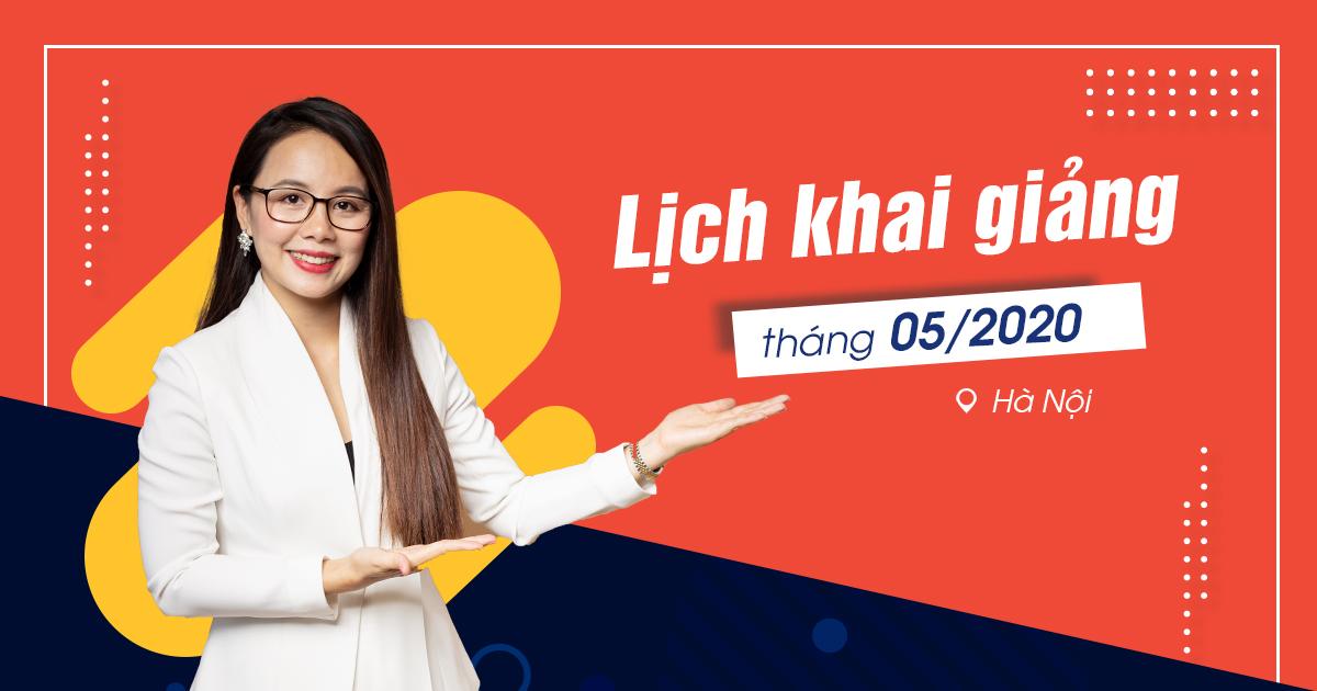 Lịch khai giảng lớp tiếng Anh giao tiếp tháng 5 tại Hà Nội