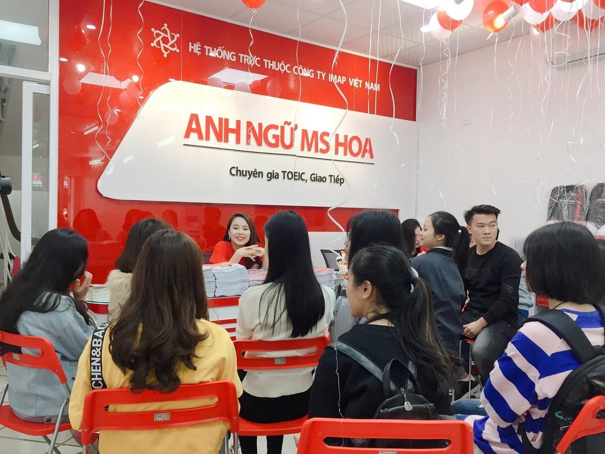Top 5 trung tâm dạy tiếng Anh giao tiếp tốt nhất ở quận Long Biên, Hà Nội - Ms  Hoa Giao tiếp