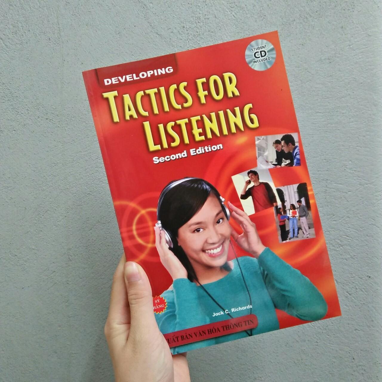 Tải bộ Tactics For ListeningDeveloping